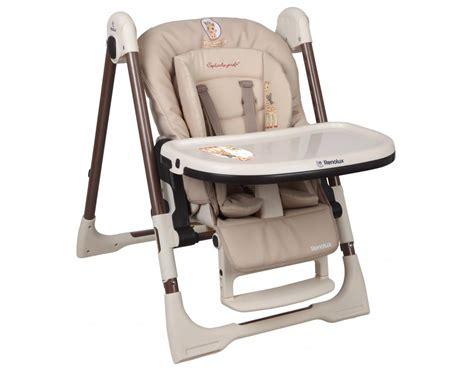chaise haute la girafe chaise haute r 233 ducteur vision la girafe
