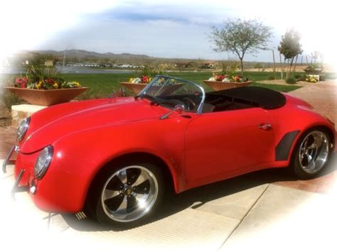 porsche speedster replica for sale 1957 356 porsche speedster replica quot demo quot for sale photos