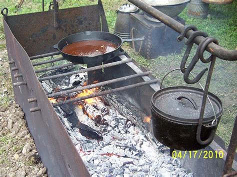 Cowboys And Chuckwagon Cooking Building A Fire Box For C Cooking | cowboys and chuckwagon cooking building a fire box for