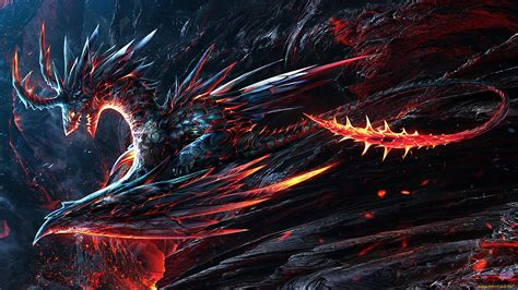 wallpaper abstract dragon molten scales full hd wallpaper and background 1920x1080