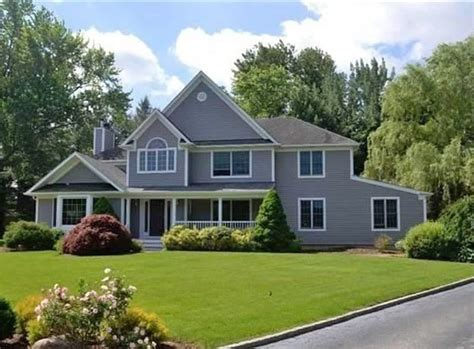 center hall colonial real estate featured listing center hall colonial in flower hill neighborhood living huntington