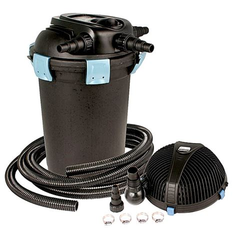 aquascape pond filters aquascape ultraklean 3500 pond filtration kit 3 500