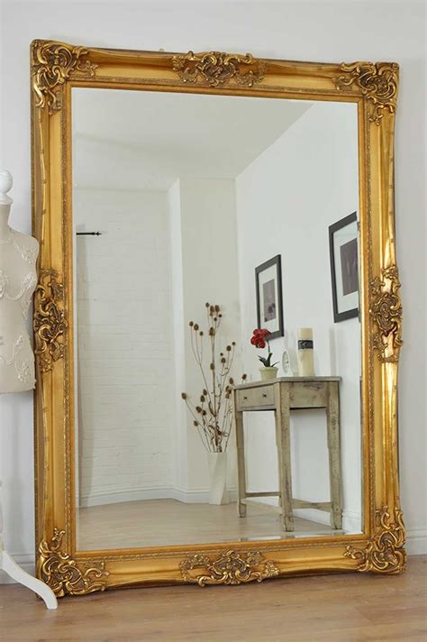 large bedroom mirrors for sale large gold very ornate antique design wall mirror 7ft x