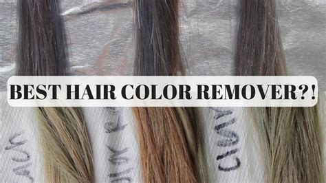 color removers  hair bleach color remover  clear dye youtube