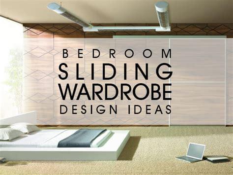 bedroom sliding wardrobe design ideas luxus india