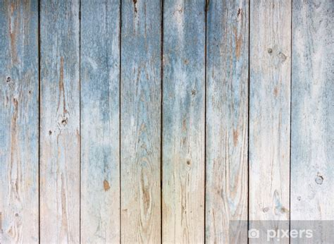 blue vintage wooden background wall mural pixers