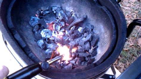 torch to light charcoal testing the mapp torch on lighting charcoal youtube