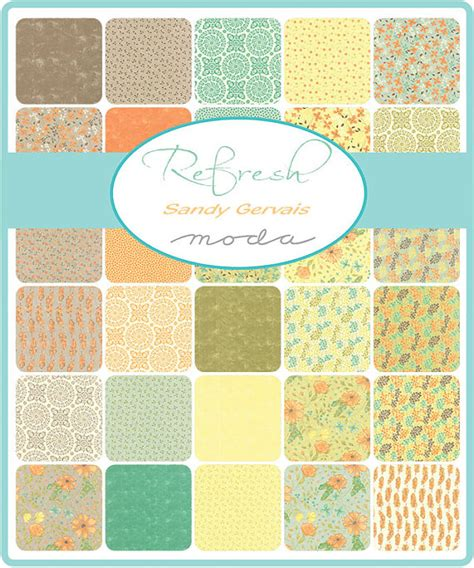 refresh pattern refresh jelly roll by sandy gervais for moda one jelly