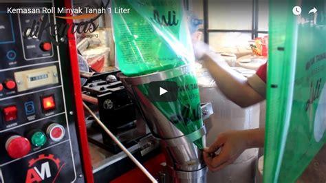 Plastik Kemasan 1 Roll Uji Coba Kemasan Plastik Minyak Tanah Dengan Mesin Kemasan