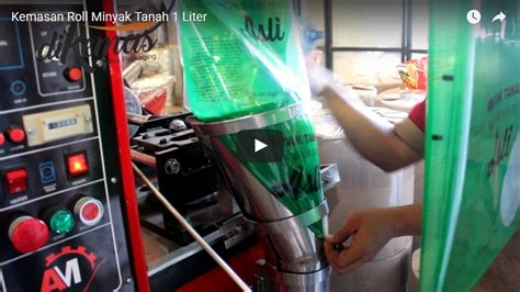 Minyak Goreng Kemasan Botol Kecil uji coba kemasan plastik minyak tanah dengan mesin kemasan