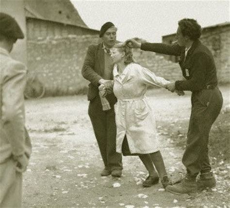 french female nazi collaborators with shaved heads marched 723 best images about nazi collaborators on pinterest