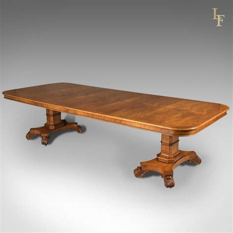 dining table for 6 large extending walnut dining table 6 12 seater late