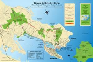 tiburon california map walk your history belvedere tiburon landmarks society