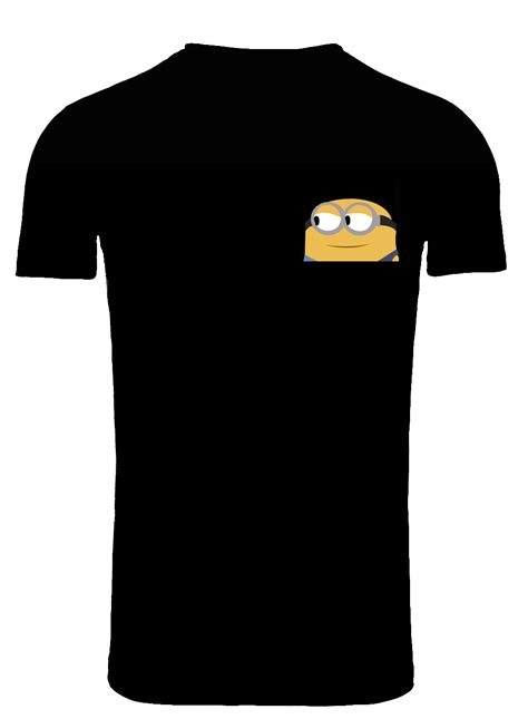 t shirt template with pocket pocket minion on t shirt template by creativedyslexic on