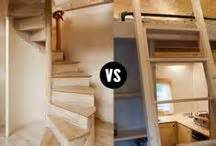 tiny house stairs ladder the loft this big pictures life our trailer one year