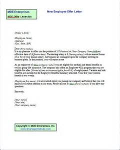 Offer Letter For It Employee Tools It Manager Institute