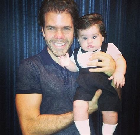 perez hilton under fire for sharing a shower with perez hilton 191 s son mario armando lavadeira iii shows an