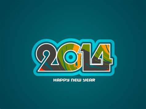 creative happy new year 2014 happy new year 2014 background creative design 06 vector
