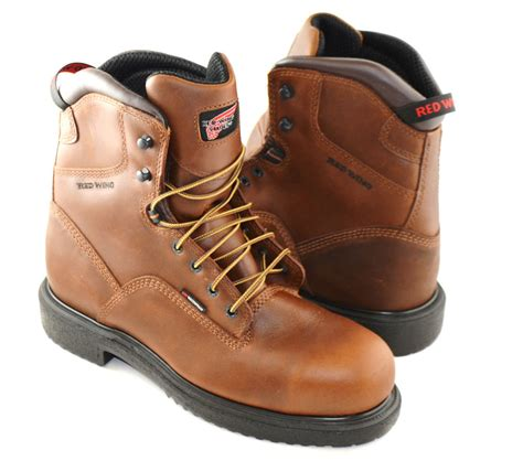 mens work boots made in usa mens wing work boots steel toe insulated water proof