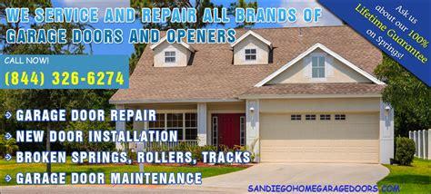 Garage Door Service San Diego Garage Door Repair In San Diego Call 844 326 6174