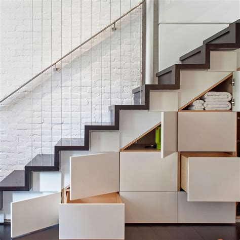 staircase storage claw back space with clever under the stair storage