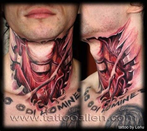 13 tattoo on neck meaning 225 best neck tattoos images on pinterest 3d tattoos