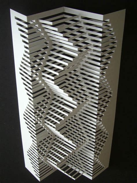 Folded Paper Cut Out Patterns - gorgeous geometric designs noupe