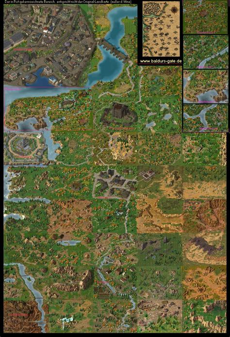 baldur s gate map post awesome adventure maps neogaf