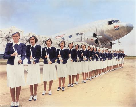 united airlines american airlines san francisco airport exhibit displays flight attendant