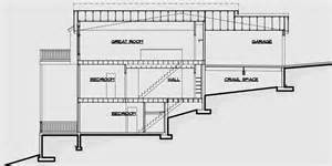 floor plans for sloped lots multi family sloping lot plans hillside plans daylight