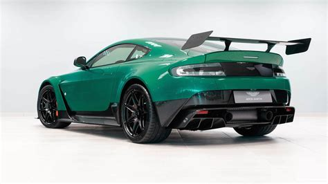 green aston martin this is the only aston martin vantage gt12 in viridian green