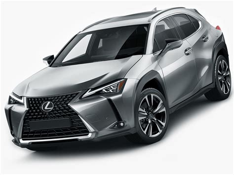 Lexus 2019 Models by 3d Lexus Ux 2019 Turbosquid 1271033