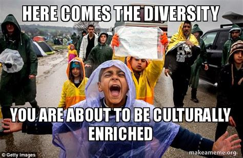 Cultural Memes - here comes the diversity you are about to be culturally