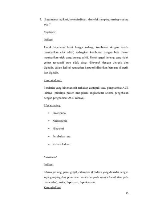 Obat Spironolactone skenario b blok 12 tahun 2013 decompensatio cordis