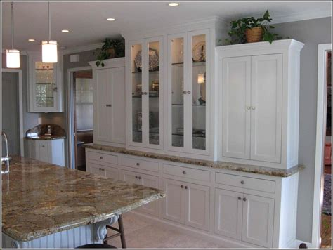 kitchen cabinet buffet ideas images about buffet hutch built in ideas kitchen cabinets
