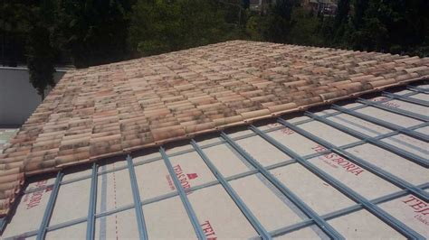 Tile Roof Installation Installation Of Clay Roof Tiles