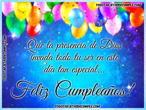 imagenes de feliz cumpleaños con frases cristianas tarjetas de cumplea 241 os con frases cristianas