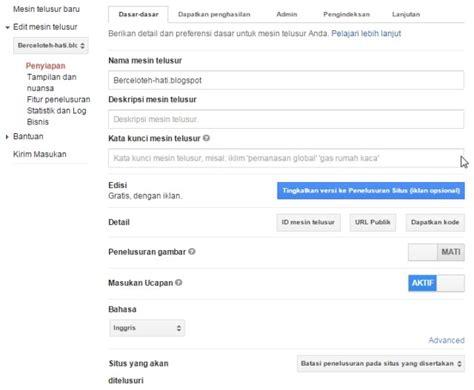 membuat blog khusus mp3 cara membuat penelusuran khusus google