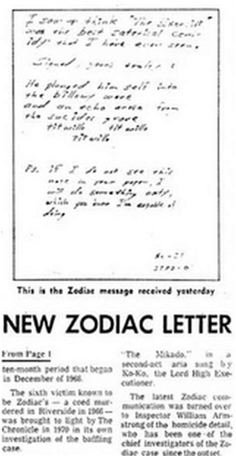 Zodiac Service Letter Gareth Penn In All Other Zodiac Suspects Forum