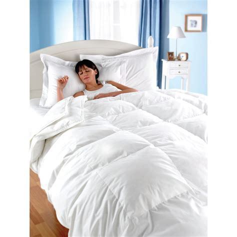 One Tog Duvet euroquilt finest white goose feather and 13 5 tog