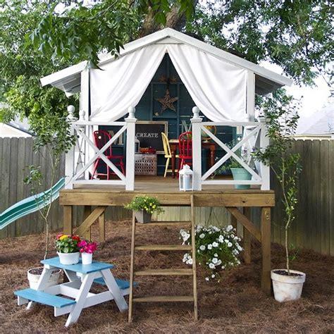Cabane Jardin Bois Enfant 2395 by Maisonnette En Bois Enfant 60 Jolies Demeures Pour Les