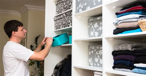 how to get organized at home closets for less