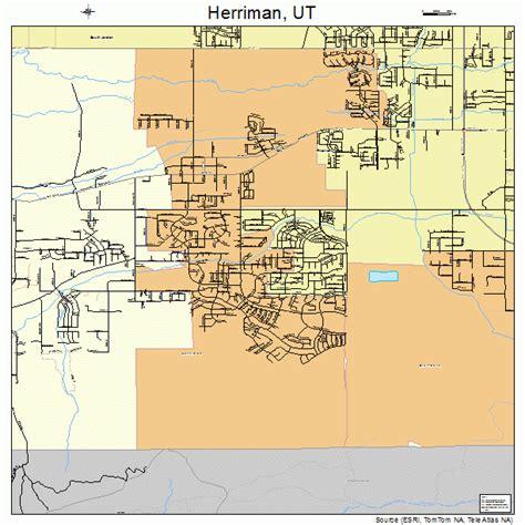 map of utah detailed road map of the state of utah herriman utah street map 4934970