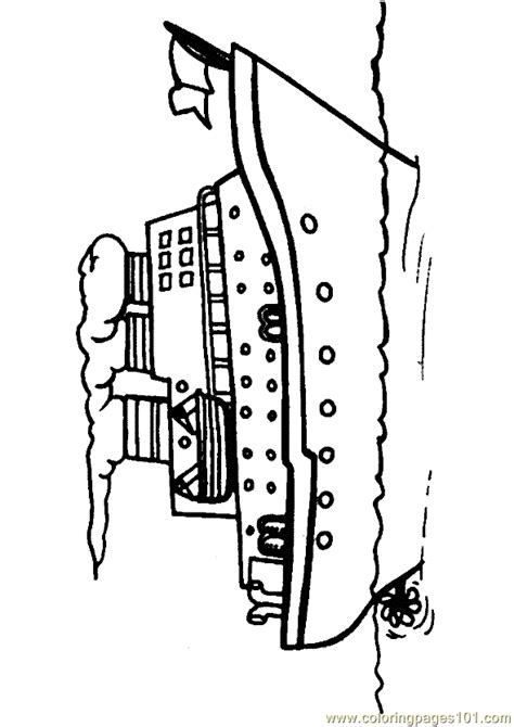 coloring pages of water transport boat coloring page 09 coloring page free water transport