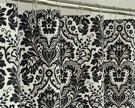 black and white damask curtain black damask curtains ring top fully lined pair eyelet