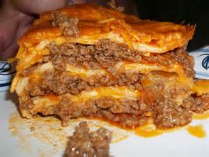 beef enchilada casserole recipe dishmaps