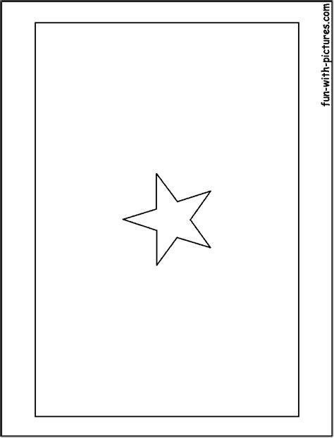 African Flags Coloring Pages - Free Printable Colouring