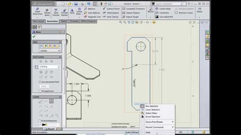 solidworks flat pattern bend notes grain coil direction annotation in solidworks youtube