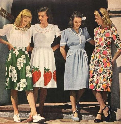 mid forties going out style fashion in the 1940s clothing styles trends pictures