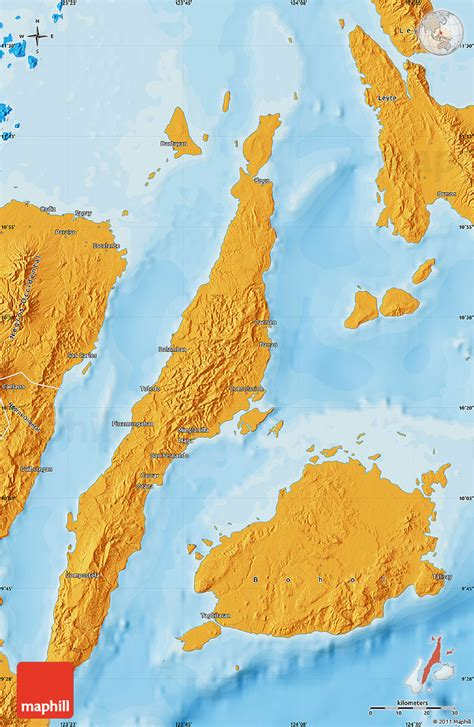 political map  cebu